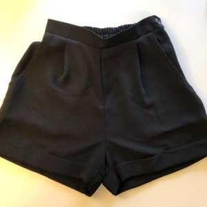 American Apparel High-Waist Shorts